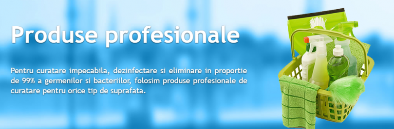 Produse profesionale UPS Cleaning
